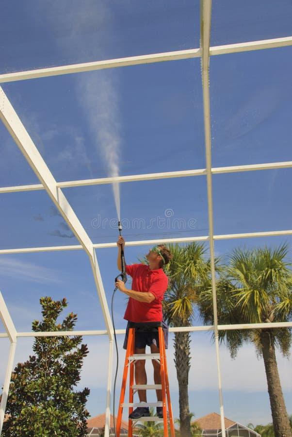 Download Washing lanai stock photo. Image of blue, square, clouds - 21435110