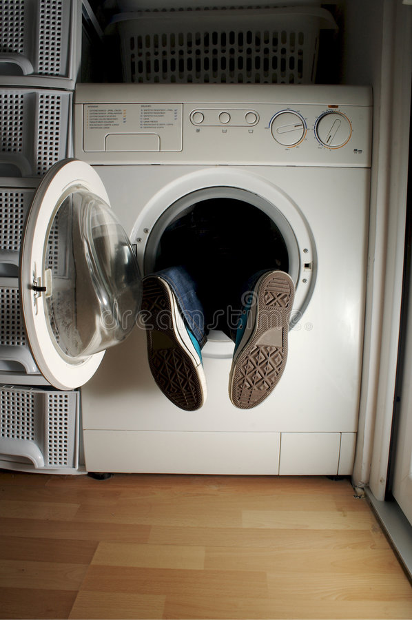 Free Washing Machine 1 Royalty Free Stock Image - 429236