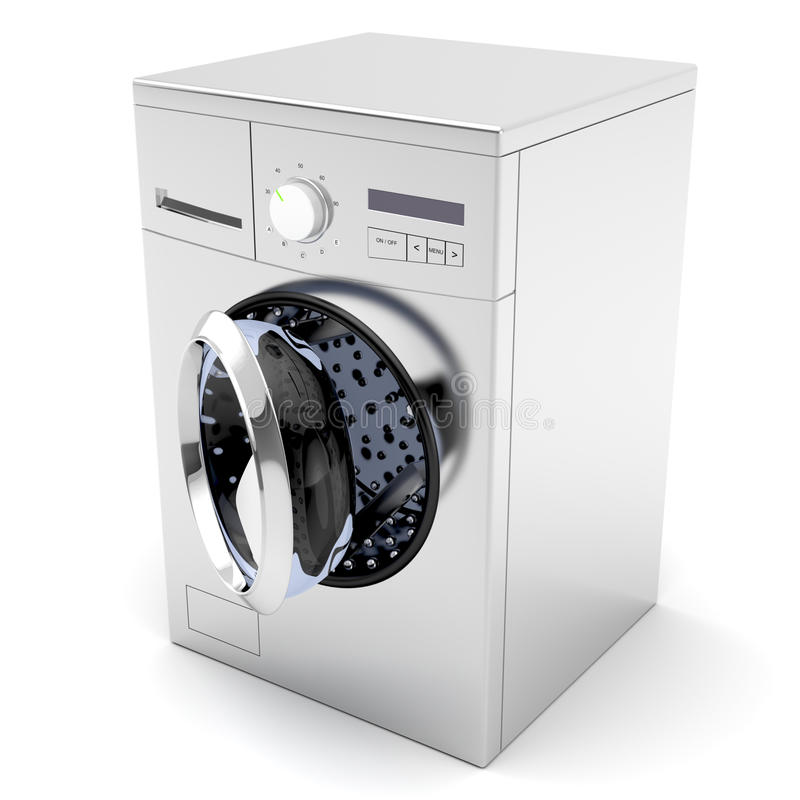 washing machine stock illustration image of spin rotate 23312240. Black Bedroom Furniture Sets. Home Design Ideas
