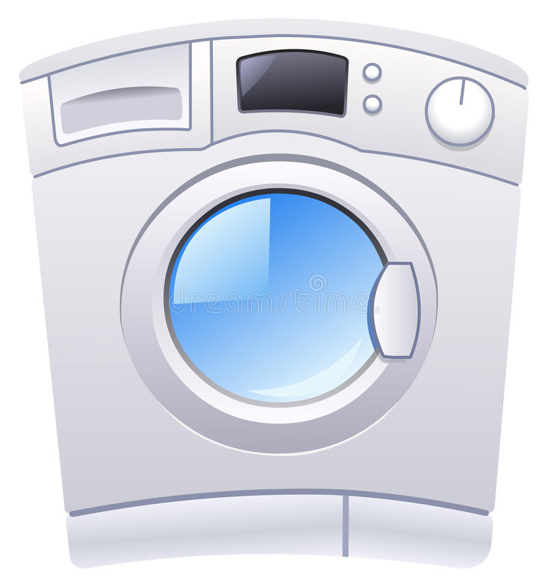 Download Washing machine stock vector. Image of design, house - 23508138