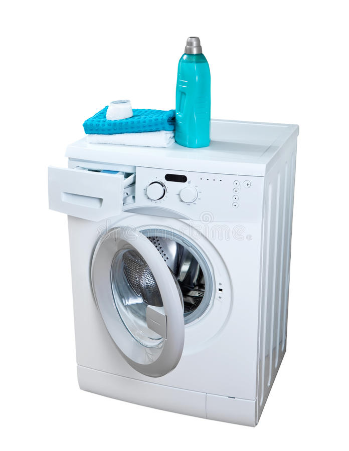 Download Washing machine stock image. Image of cleaning, detergent - 24826569