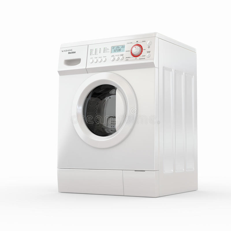 Download Washing Machine. 3d Royalty Free Stock Image - Image: 21597326