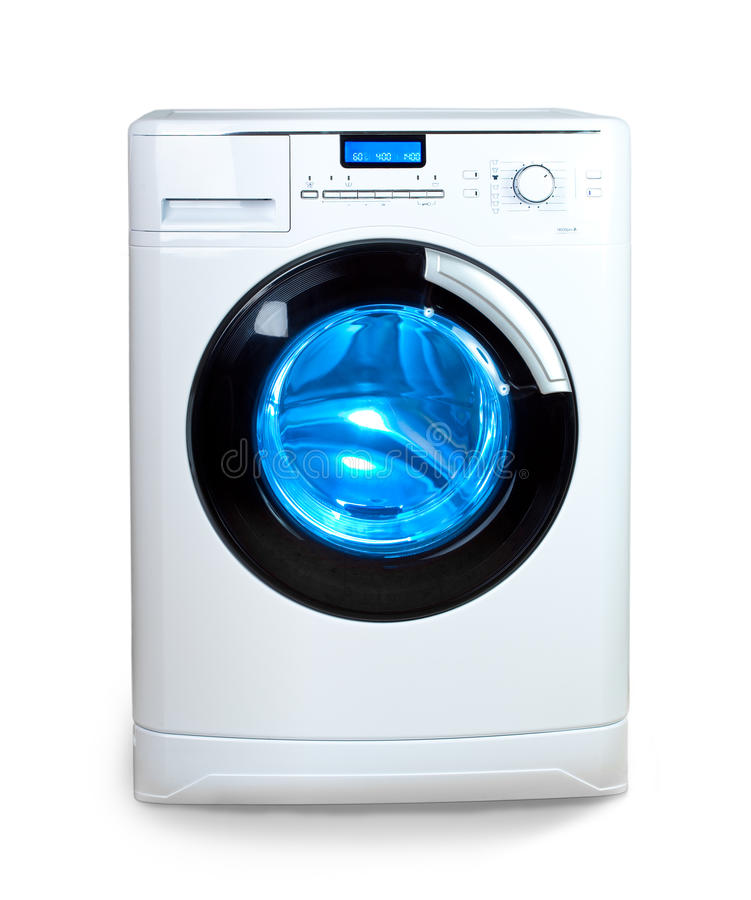 The washing machine.Close up royalty free stock images