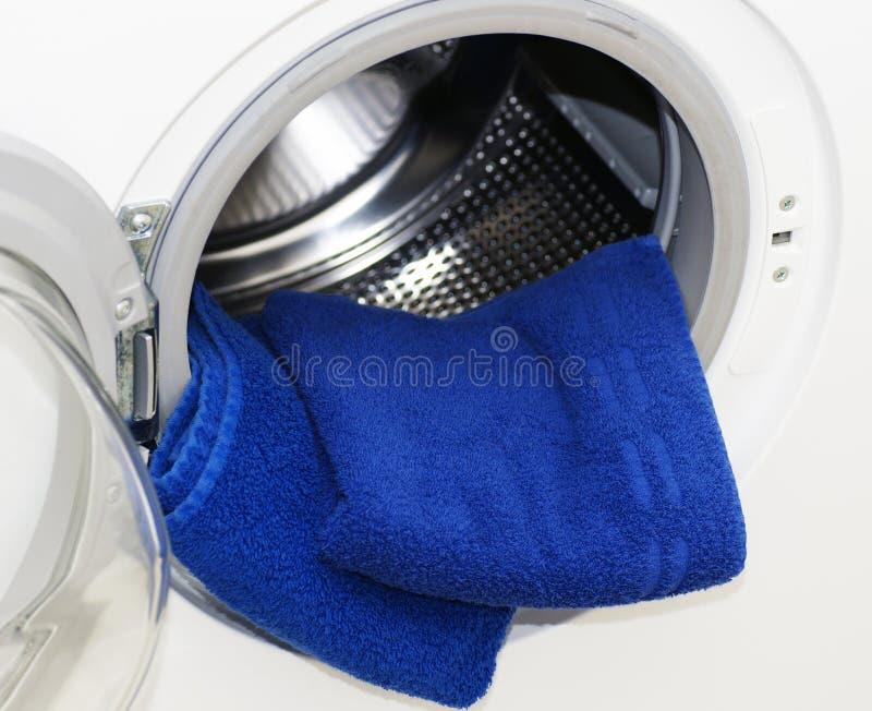 Washing machine detail stock image