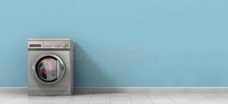 Washing Machine Full Single royalty free stock images