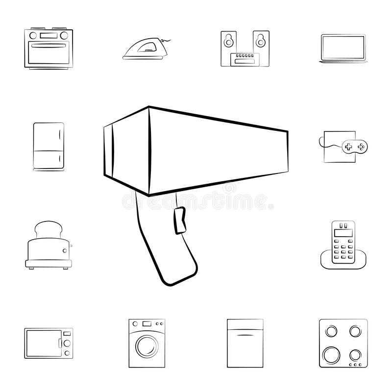 washing machine outline icon  bathroom and sauna element
