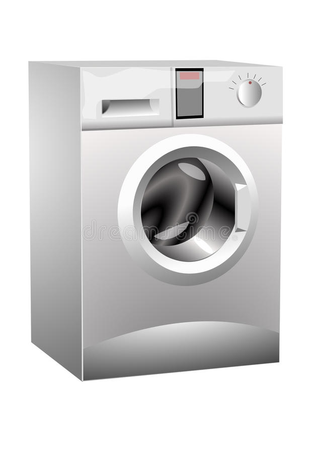 Washing-machine royalty free stock photos