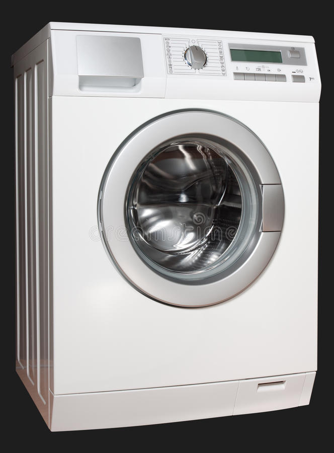 Washing machine from left royalty free stock photos