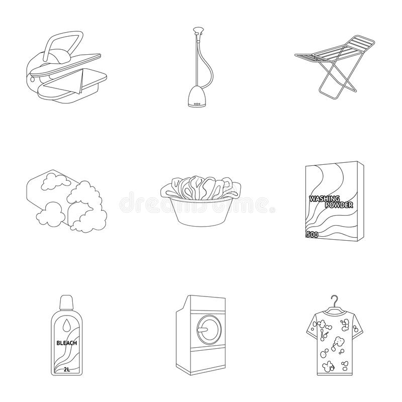 Washing Machine Powder Iron And Other Equipment Dry Cleaning Set