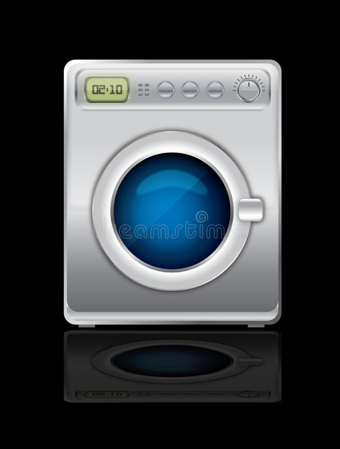 Washing machine vector vector illustration