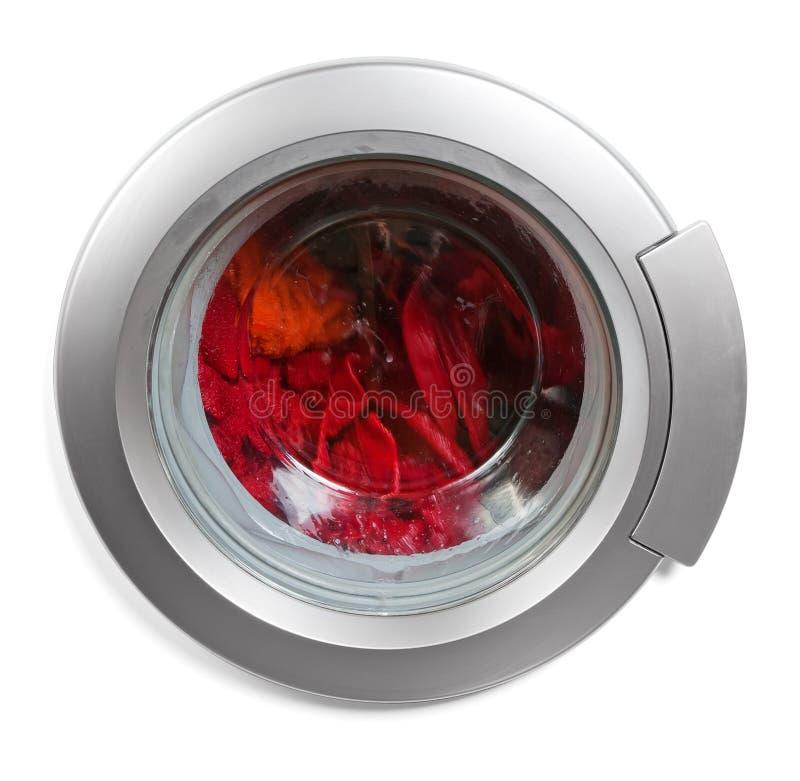 Washing machine window stock images