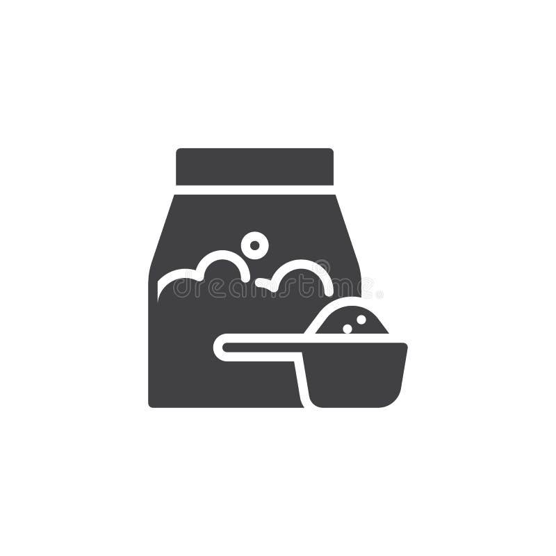 Washing powder vector icon vector illustration