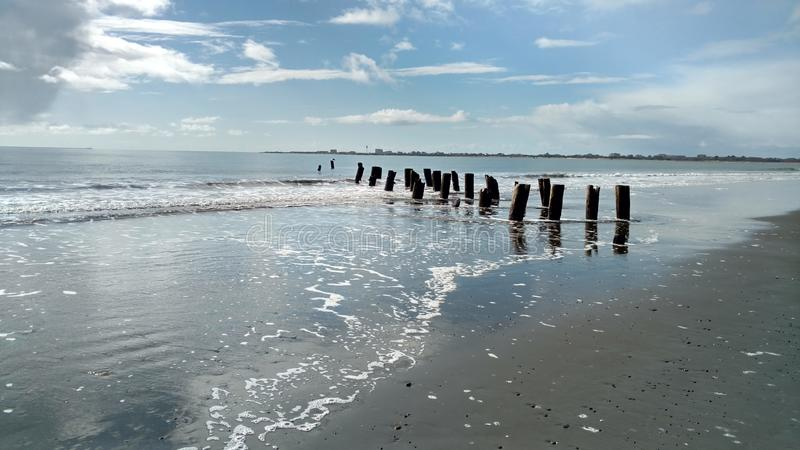 Washington Beaches royalty-vrije stock foto's