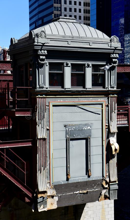 Washington Boulevard Bridge Tenderâ-€™s Haus stockfotos