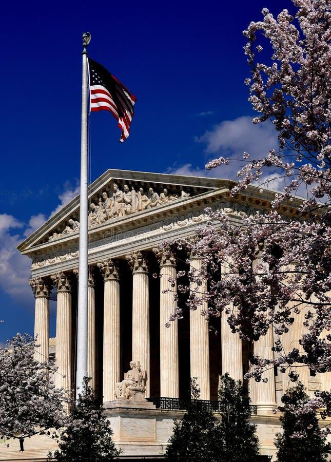 Washington, C.C.: Corte suprema do Estados Unidos fotografia de stock royalty free
