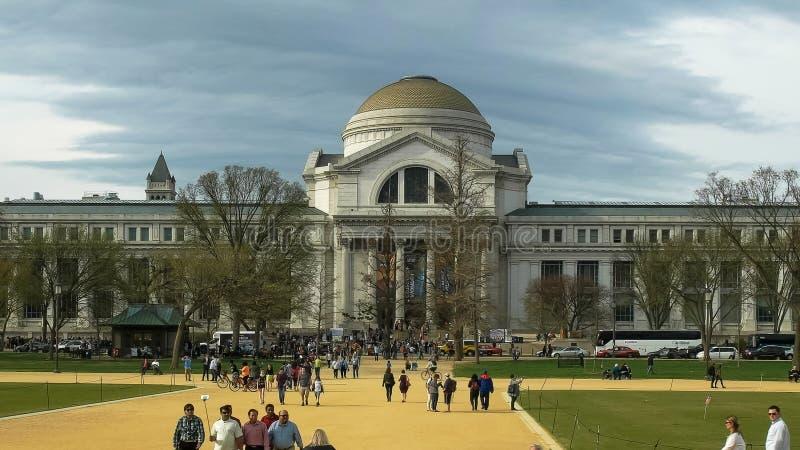 WASHINGTON, C.C, Etats-Unis - avril, 3, 2017 : extérieur du musée d'histoire naturelle de Smithsonien dans DC de Washington photos libres de droits