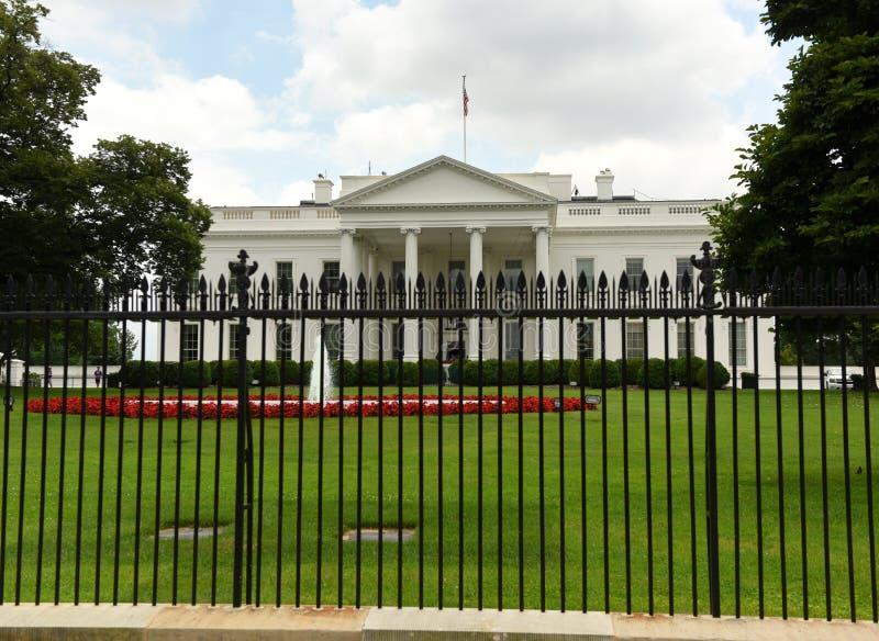 Washington, C.C - 2 juin 2018 : La Maison Blanche, Washington DC photos stock