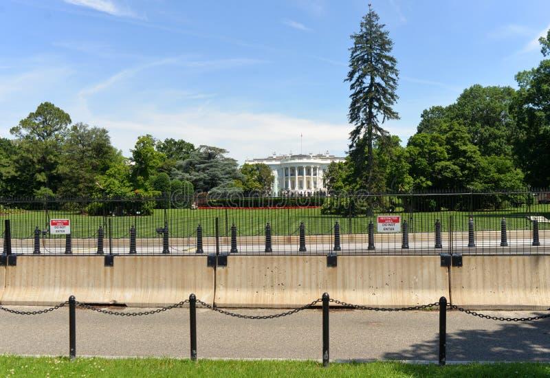 Washington, C.C - 2 juin 2018 : La Maison Blanche, Washington DC images libres de droits