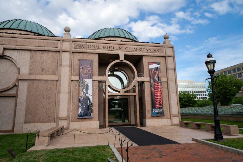 Washington, C.C - 9 mai 2019 : Ext?rieur du Mus?e National de l'art africain, une partie du Smithsonien Insititution le long du image stock