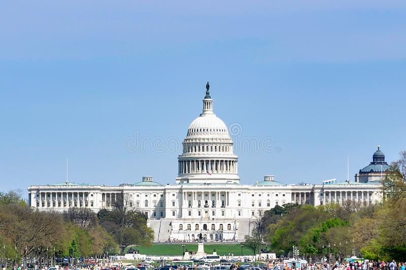 Washington capitol, washington dc, u.s.a royalty free stock photos