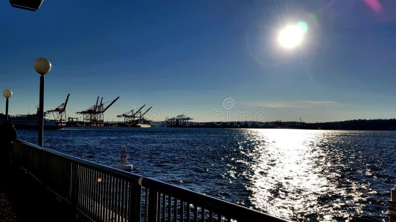 Washington Coast stockfoto