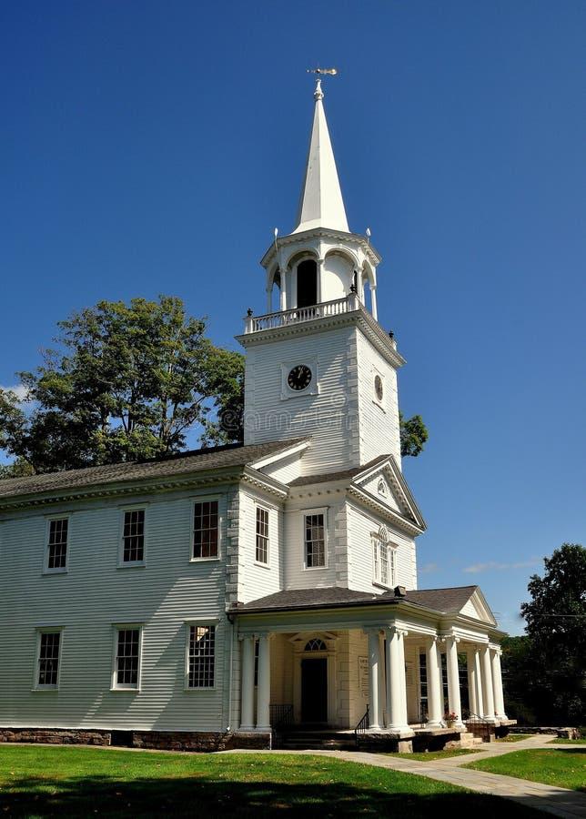 Washington, CT : Église de Chambre de première rencontre images libres de droits