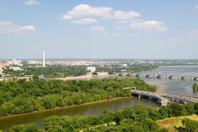 Washington D.C. aerial view