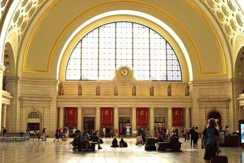 Historic Union Station, Washington DC stock photos