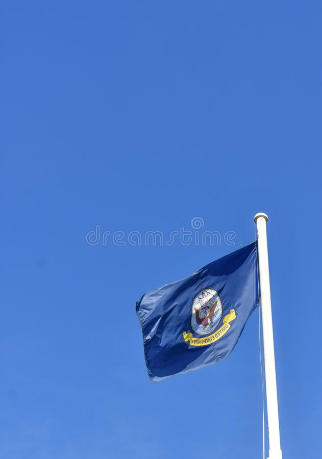 Washington D.C., United States – October 23, 2017 : Archives o. Washington D.C., USA – Oct 23, 2017 : United States of America Navy Flag stock images