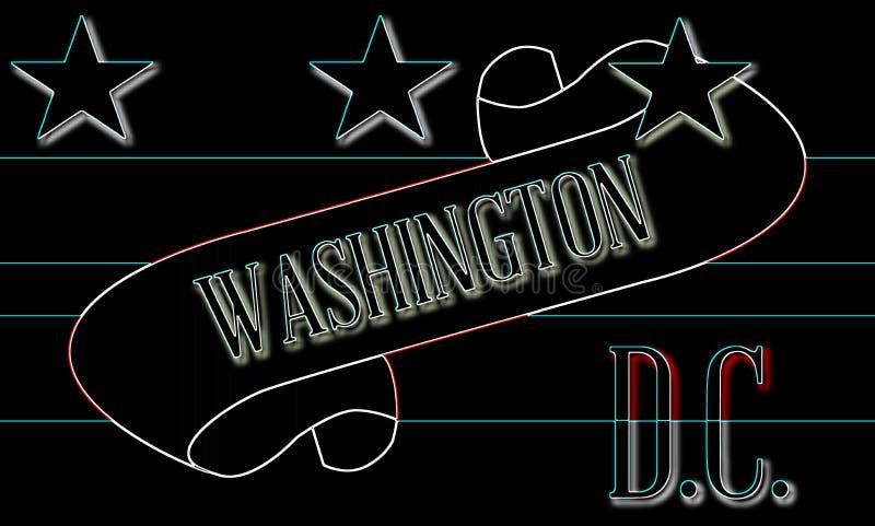 Washington DC ślimacznica ilustracja wektor