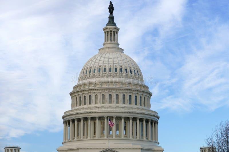 Washington DC, Ηνωμένες Πολιτείες 2 Φεβρουαρίου 2017 - Κάπιτολ Χιλλ Β στοκ φωτογραφίες με δικαίωμα ελεύθερης χρήσης