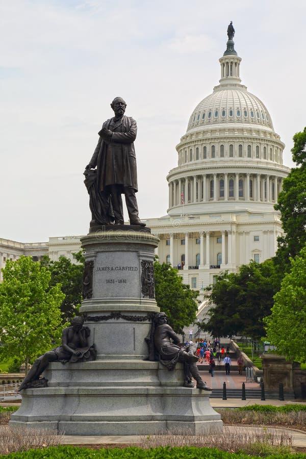 Washington DC, κτήριο Capitol ΗΠΑ στοκ εικόνες