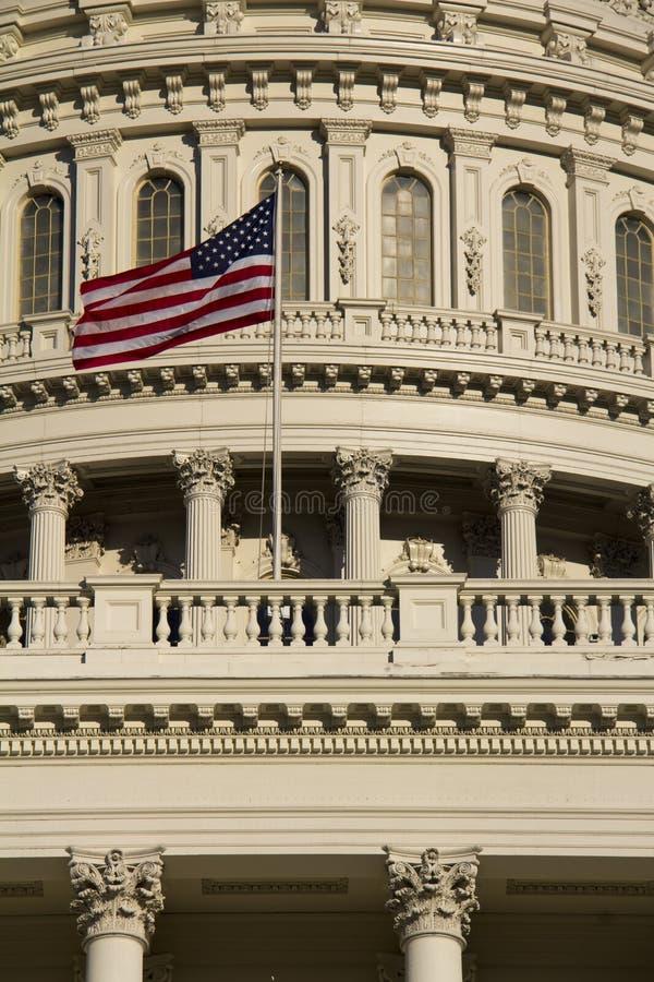 Washington DC, κτήριο Capitol στοκ εικόνα