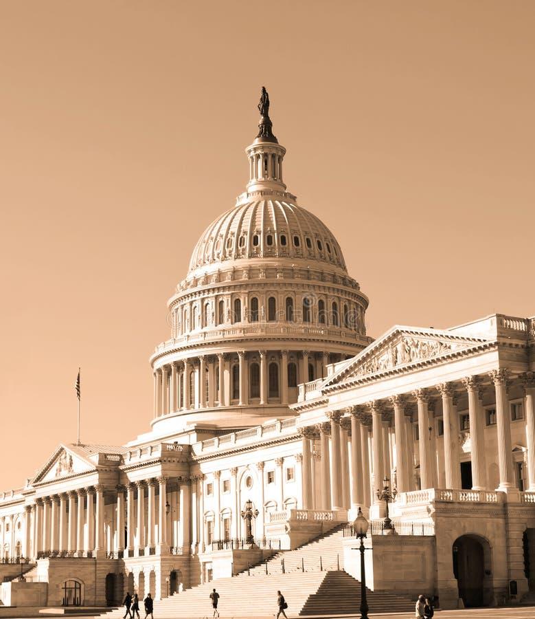 Washington DC, κτήριο Capitol στοκ φωτογραφίες