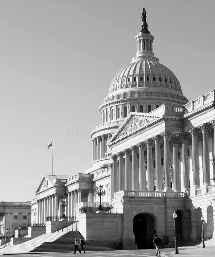 Washington DC, κτήριο Capitol στοκ φωτογραφία με δικαίωμα ελεύθερης χρήσης