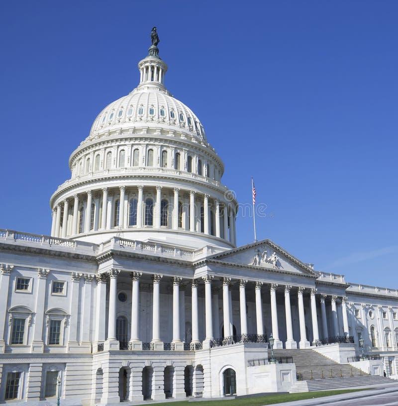 Washington DC, κτήριο Capitol στοκ εικόνες