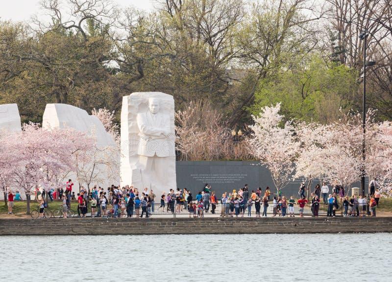 Het Washington DC van het Monument van Martin Luther King royalty-vrije stock fotografie