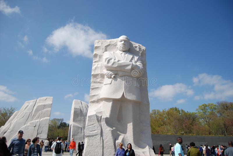 Martin Luther King Jr. Memorial Editorial Photography