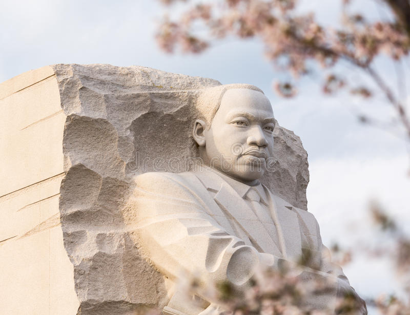 Washington DC del monumento di Martin Luther King fotografia stock