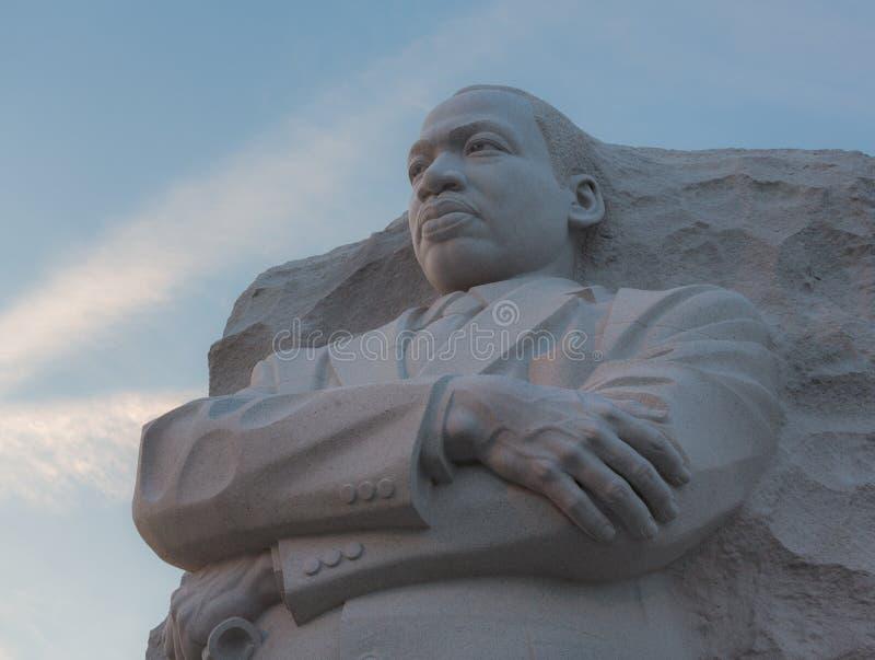 Washington DC de monument de Martin Luther King photo stock