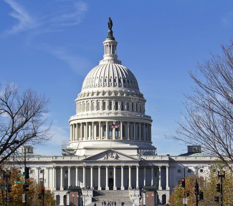 Washington DC, bâtiment de capitol photographie stock libre de droits
