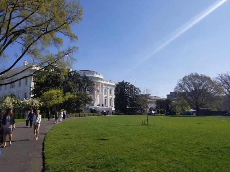 Washington DC blanc de maison photographie stock