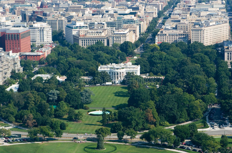 Washington DC blanco de la casa imagen de archivo