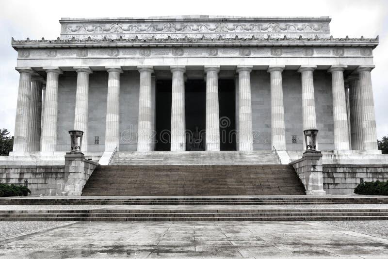 Washington DC commemorativo nazionale del Presidente Lincoln fotografia stock