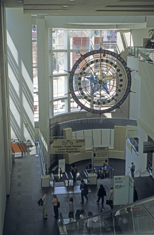 Washington DC Convention Center interior royalty free stock images