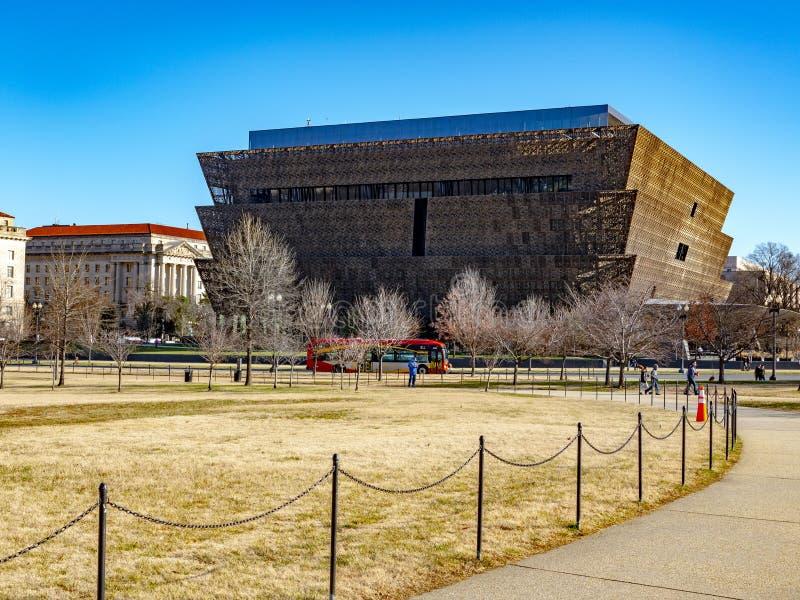 Washington DC - 25 décembre 2018 Mus?e National de l'histoire et de la culture d'Afro-am?ricain images stock