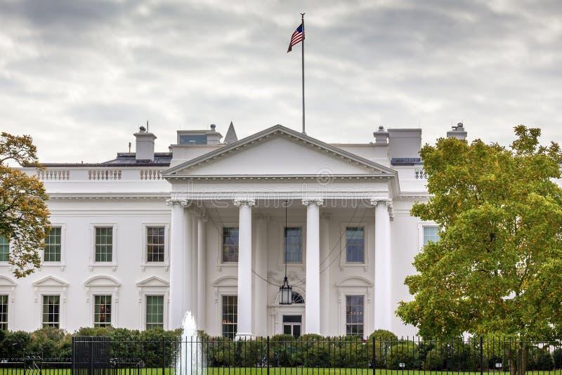 Washington DC d'avenue de la Pennsylvanie de la Maison Blanche photo libre de droits