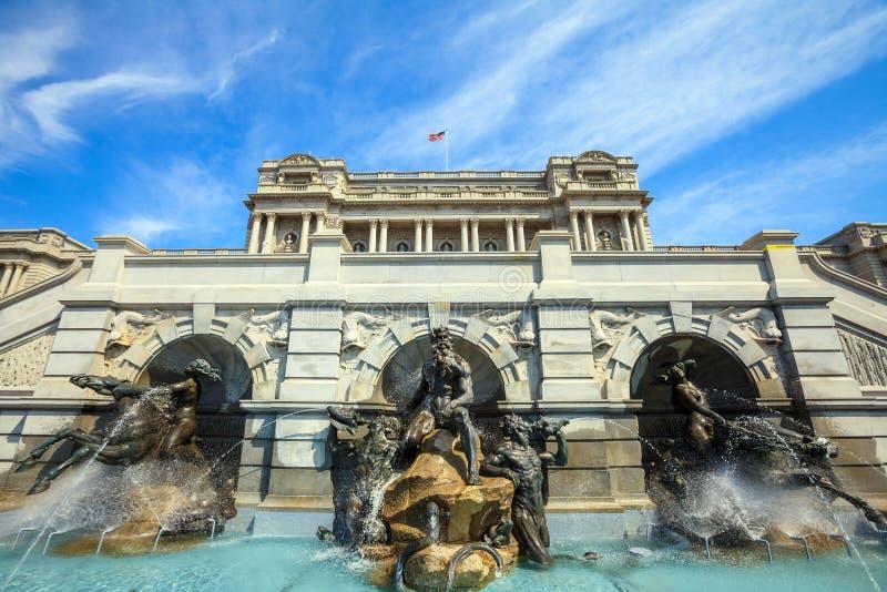 Washington DC da Biblioteca do Congresso imagem de stock royalty free
