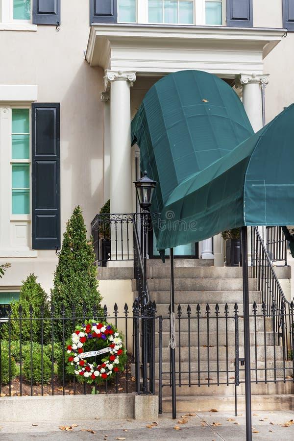 Washington DC de Blair House Second White House fotografia de stock royalty free