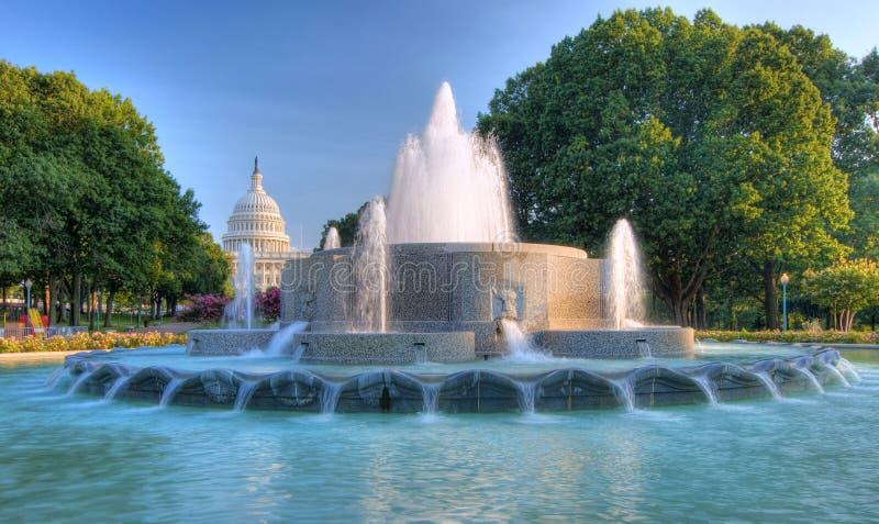 Washington DC de capitol de HDR USA photo stock